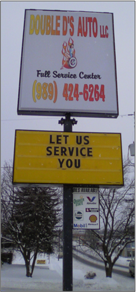 Double D's: Let Us Service You